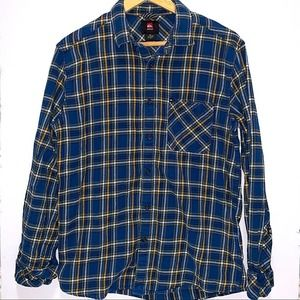 QUIKSILVER Basic Flannel | Mens | Small